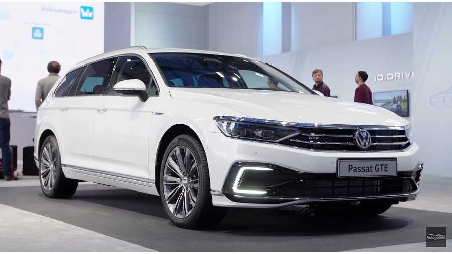 Quick Look At New, Bigger Battery Volkswagen Passat GTE: Video