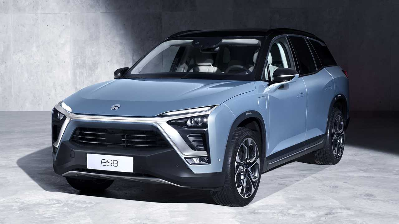 The seven-seat, luxury ES8 electric SUV