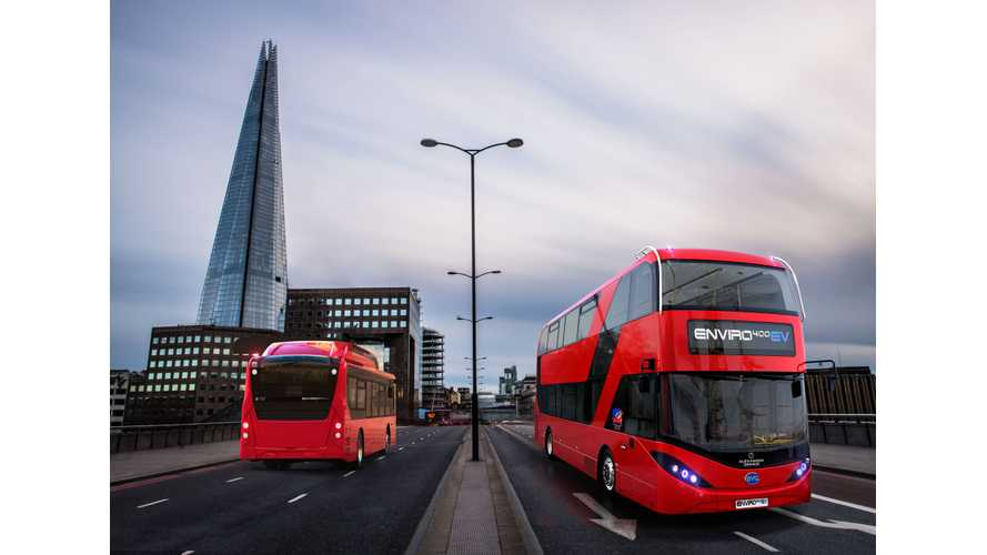 BYD & ADL To Deliver 37 Double Decker Electric Buses To London