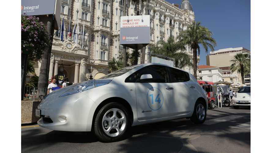 Nissan LEAF Shows Silence Is Golden At The Cannes Lions Festival