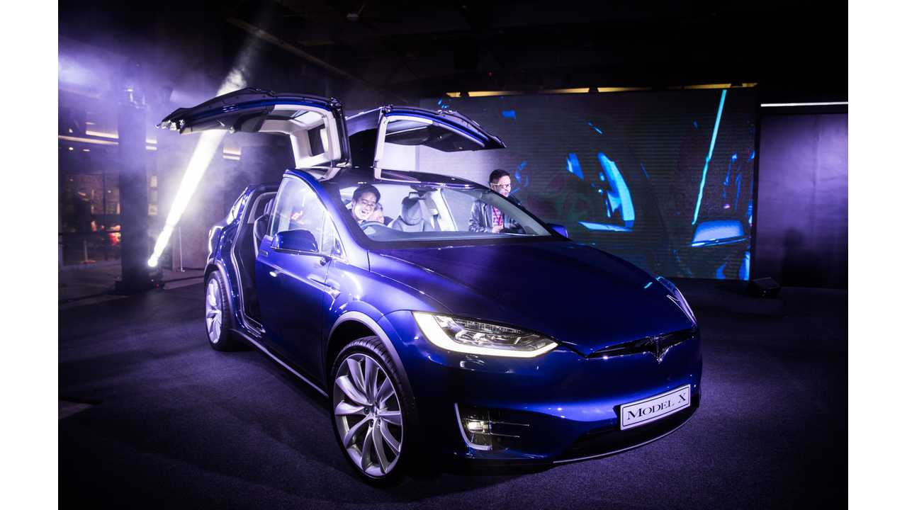 First Model X RHD deliveries in the