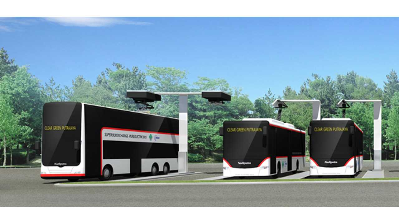 Malaysia Pioneers Fast Rechargeable Double-Decker EV Buses (With Toshiba SCiB)