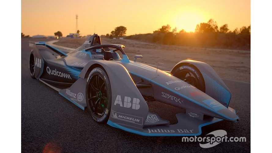 Formula E Debuts Next-Generation Race Car In Geneva (Video)