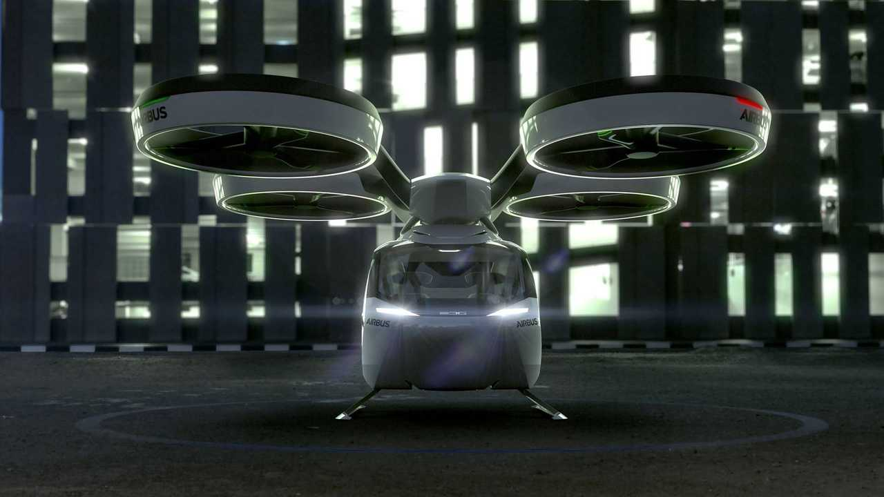 Audi & Airbus Reveal Electric Flying / Driving Duo