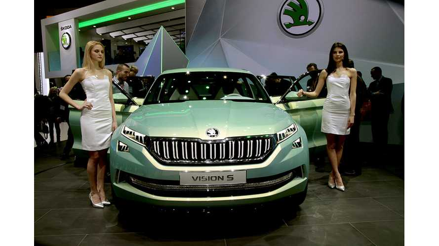 Skoda To Show First Electric Car Concept At Shanghai Motor Show