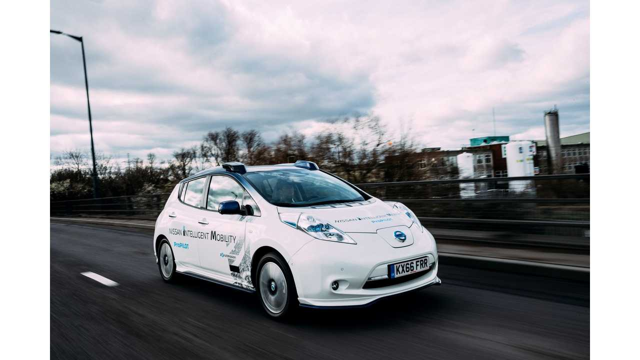London Proves To Be Too Congested For Autonomous Nissan LEAF