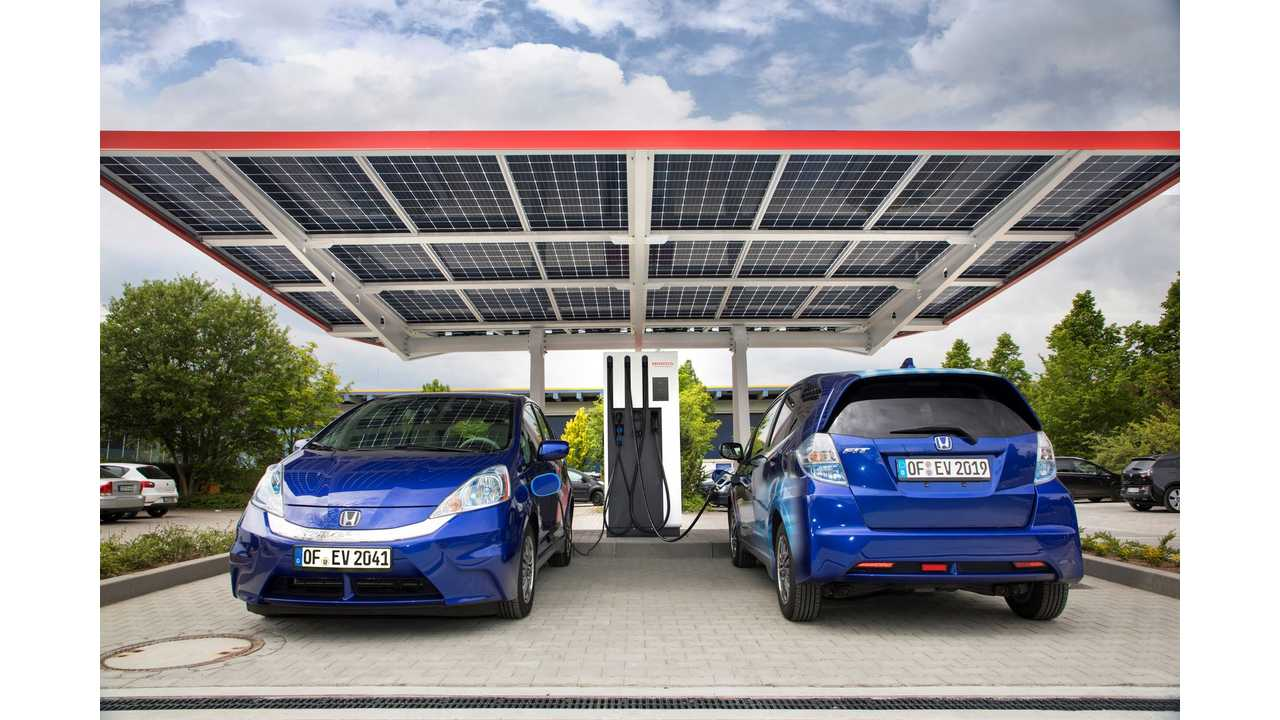 Honda Opens Its R&D Facility In Germany, 'Future Proofed' With A 150 kW Fast Charging Station
