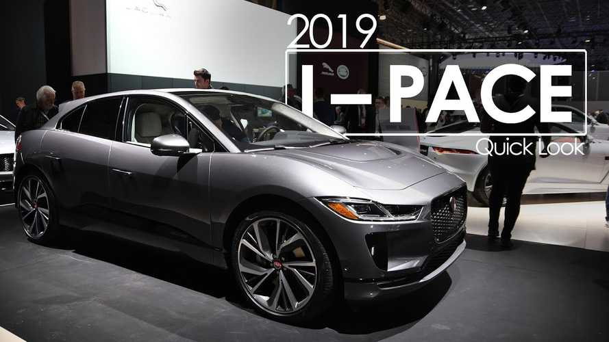 Jaguar I-PACE Shines In New York - Videos