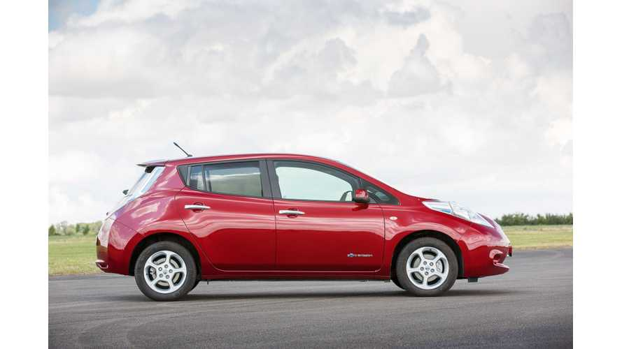 Nissan Sold Record 1,986 LEAFs In Europe In September