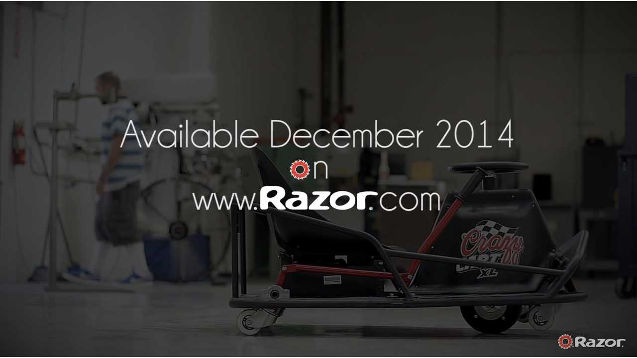 Razor Crazy Cart XL (w/video)