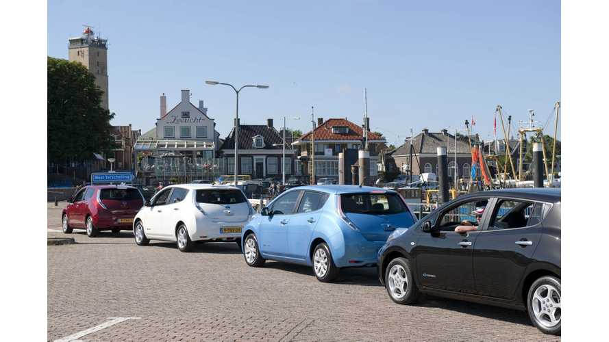 Nissan LEAF Chosen For World's Largest Island-Based Electric Car Sharing Program