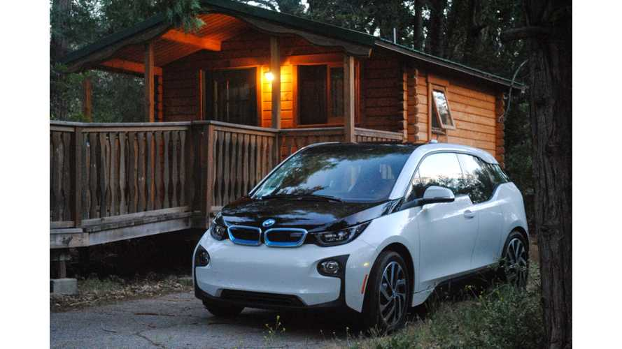 BMW i3 City EV Is At Home In The Mountains Too