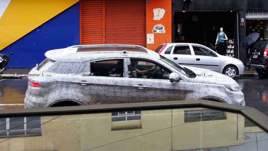 Flagra: Ford Territory se prepara para enfrentar Compass no Brasil