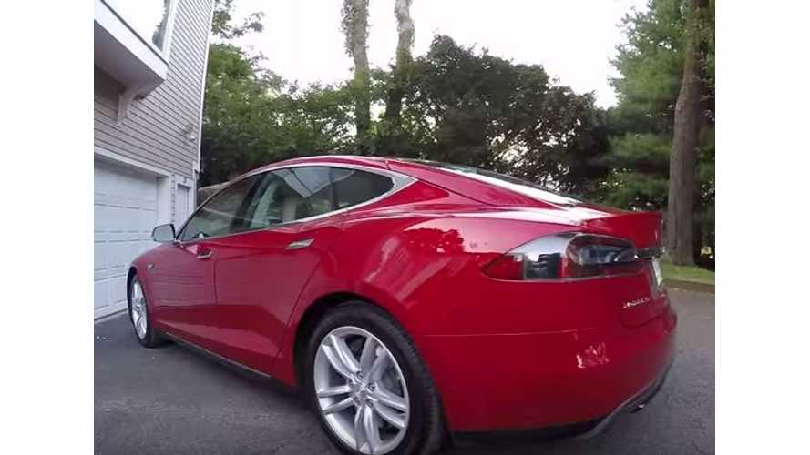 Tesla Model S 70D - Video Test Drive Review