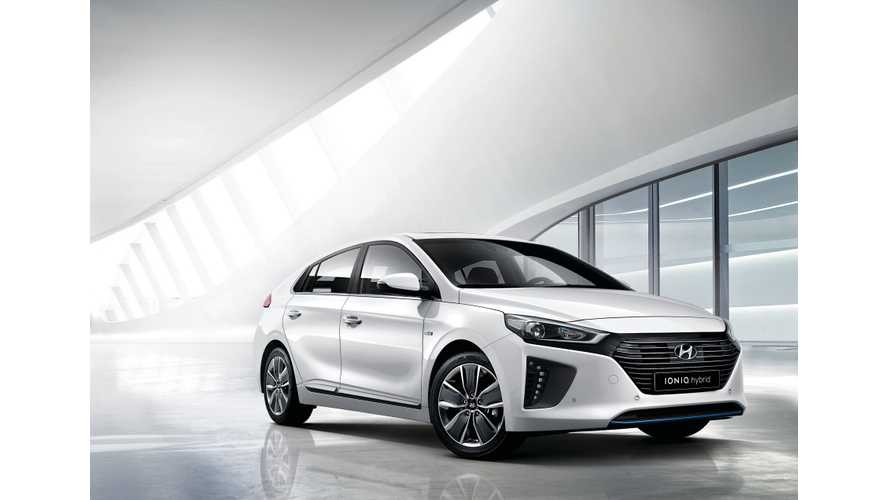 Hyundai IONIQ Makes World Debut In South Korea - Images + Videos