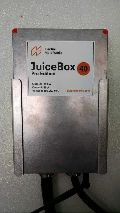 Featured Electric Car Product: JuiceBox Pro 40 EVSE