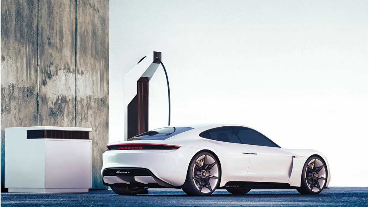 Porsche's Electric Pit Stop: ChargeBox, CoolingBox, Boxes Galore