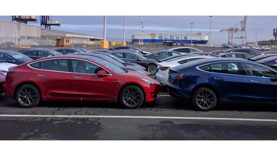Four-Digit Number Of Tesla Model 3s Arrive In Europe