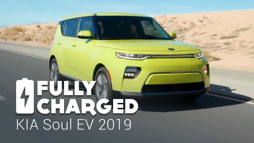 Watch All-New 2020 Kia Soul EV Get Fully Charged