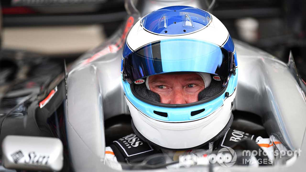 Mika Hakkinen at Legends F1 30th Anniversary during Japanese GP 2018