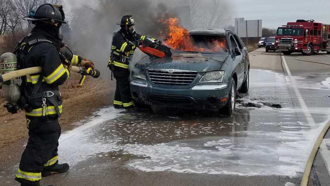 Chrysler Pacifica Fire