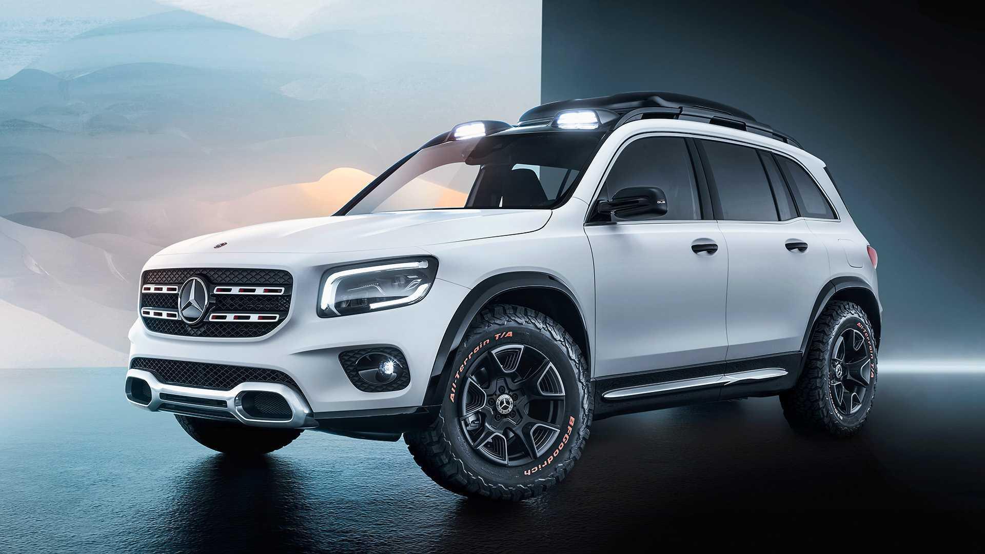 Mercedes-Benz GLB produzido no México fica mais perto do Brasil 2019-mercedes-concept-glb