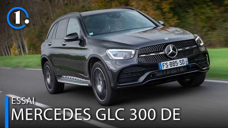 Essai Mercedes-Benz GLC 300 de - L'hybride diesel a-t-il du sens ?