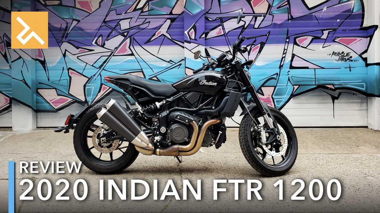 2020 Indian FTR 1200 Review Main