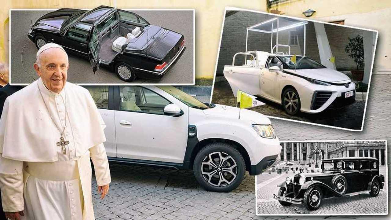 Die Autos der Päpste