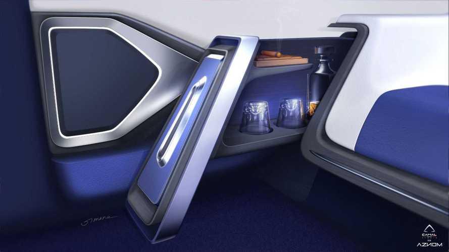 Aznom Palladium 'Hyper Limousine' interior teased with two new shots