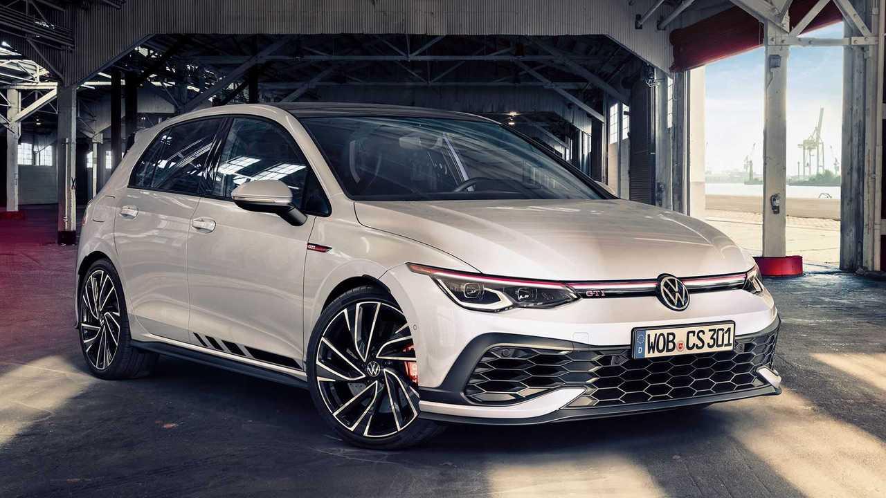 Volkswagen Golf GTI Clubsport (2020), вид спереди