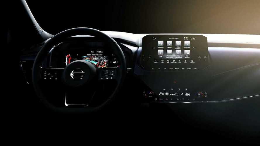 Nissan Qashqai (2021): Erster Blick in den Innenraum