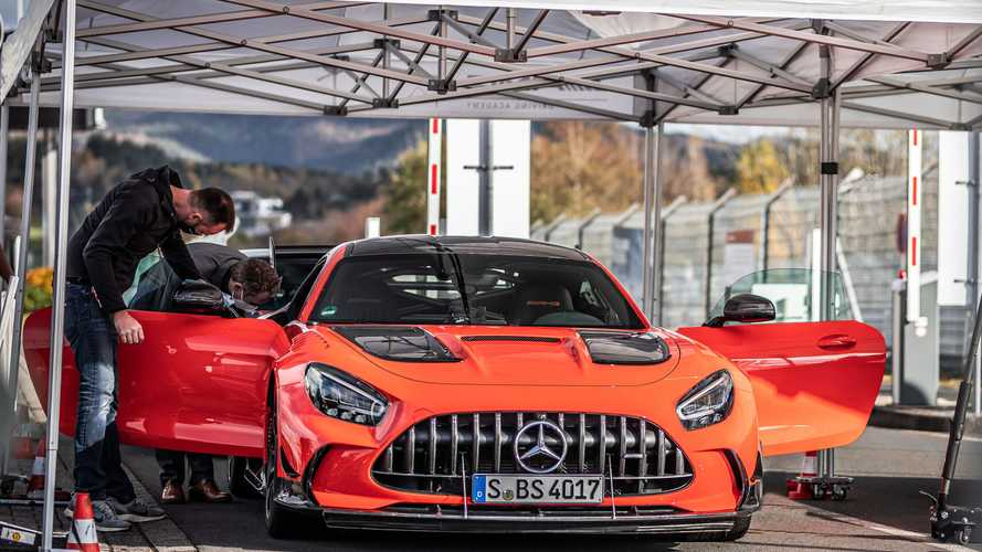 Mercedes-AMG Explains How GT Black Series Set A Nurburgring Record