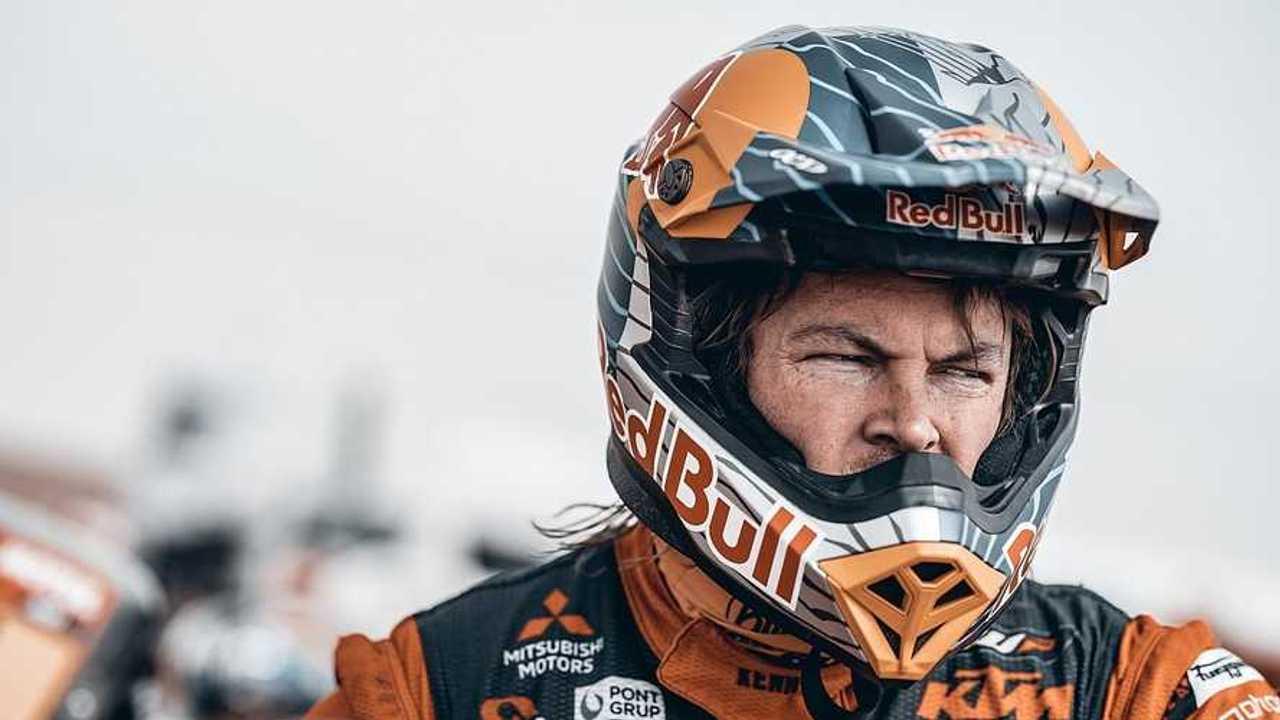Toby Price 2021 Dakar Crash
