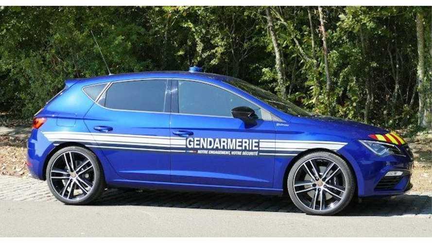 SEAT Leon CUPRA de la Gendarmerie francesa