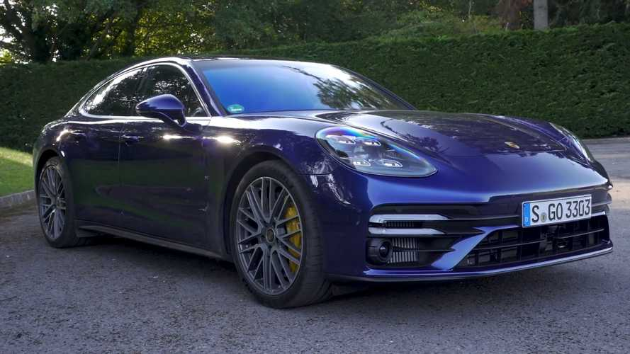 Watch 2021 Porsche Panamera Turbo S Do 0-60 MPH In 3.3 Seconds