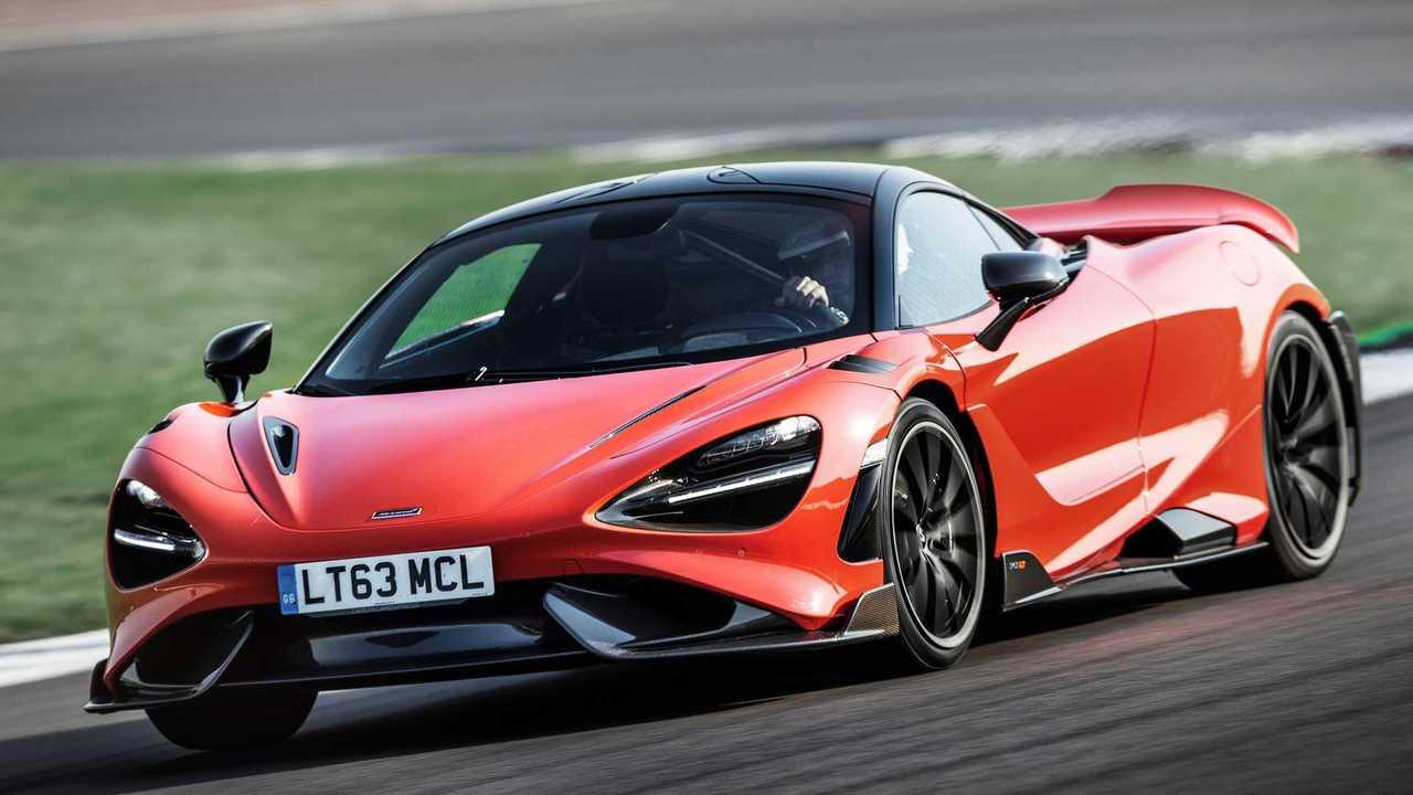McLaren 765LT 2021, primera prueba
