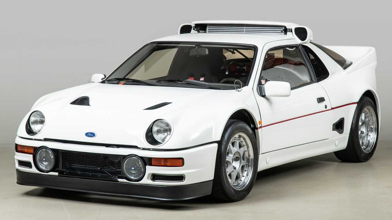 1986 Ford RS200 Evolution Front