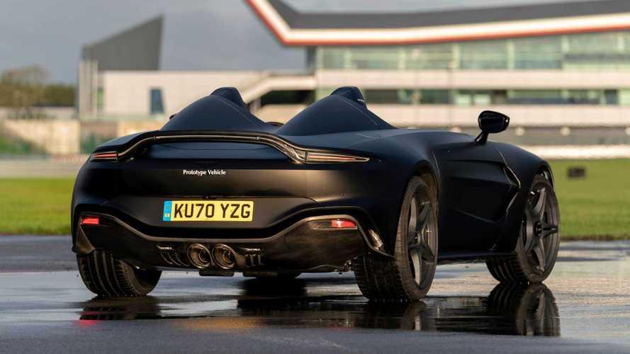 Aston Martin V12 Speedster Prototype Looks Sinister In Matte Black
