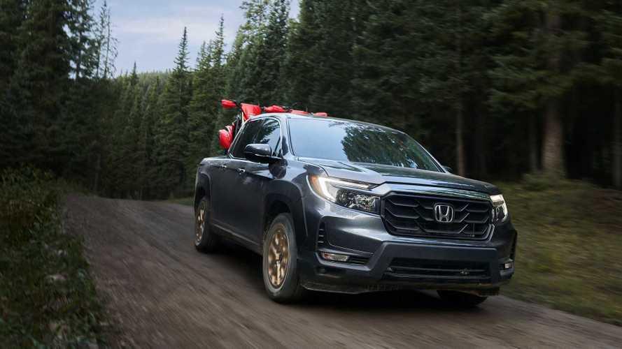 Honda сделала пикапу Ridgeline радикальную «подтяжку лица»