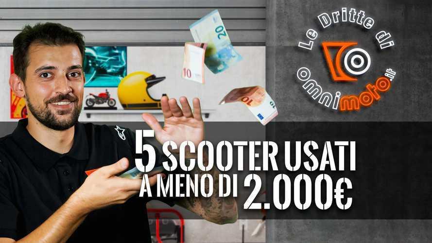 Mobilità Covid-free: 5 scooter a meno di 2.000 euro | Le Dritte di OmniMoto.it