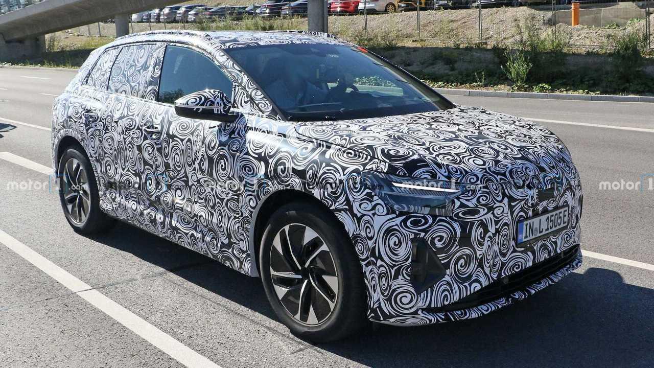 Audi Q4 E-Tron Spied