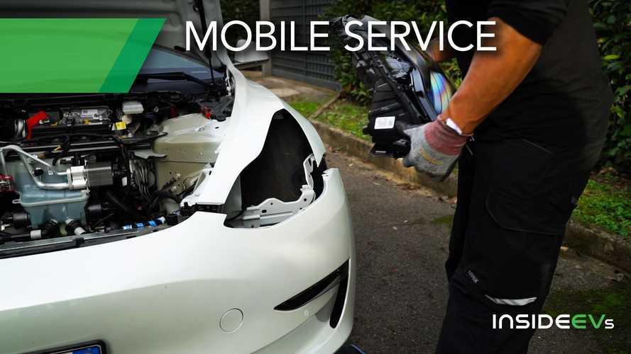 Come funziona il meccanico a domicilio di Tesla (Mobile Service)