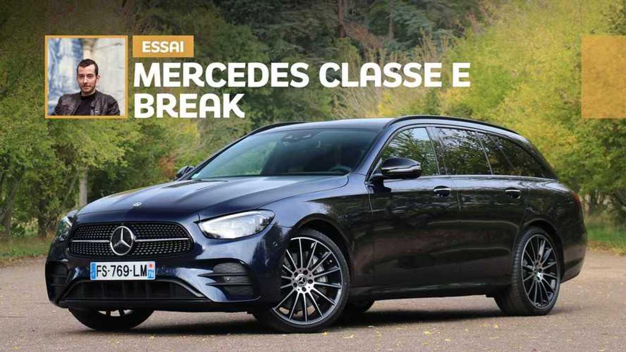 Essai Mercedes Classe E break (2020)