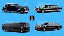 Die Limousinen der US-Präsidenten von Roosevelt bis Trump