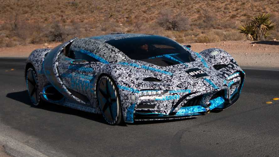 The Hyperion XP-1 Hydrogen Supercar Pays A Visit To Las Vegas