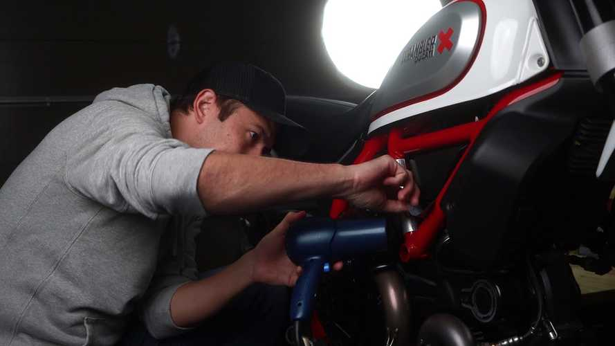 How To Remove And Preserve Stickers From Your Motorcycle