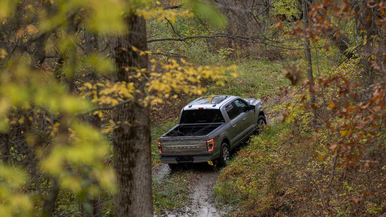 2021 Ford F-150 off-road wide