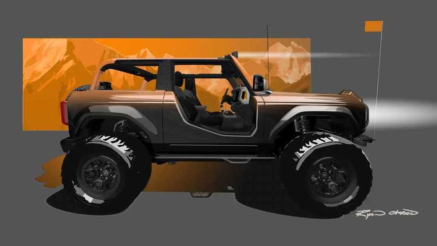 Ford Bronco Badlands Sasquatch Concept SEMA