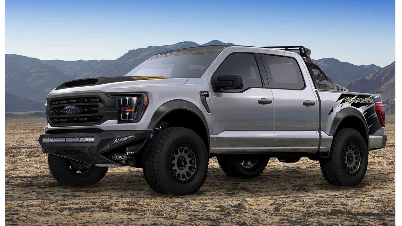 2021 Ford F-150 by Pax Power (front)
